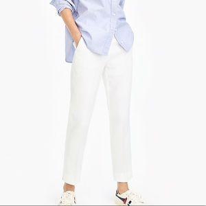 J Crew linen white summer pants